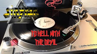 Stryper - To Hell With The Devil w/ Abyss Intro - (1986) Black Vinyl LP