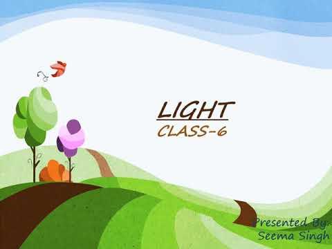 - Class 6- -Science-Light