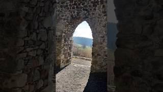 The ruins of castle Nünegg in Switzerland