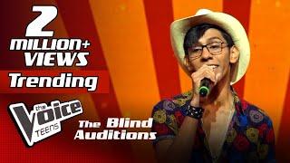 Siyum Sandeep | Ape Punchi Badapu (අපේ පුංචි බැදපු) | Blind Auditions | The Voice Teens Sri Lanka