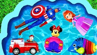 Learn Characters Names for Toddlers Surprise Toys, Pj Masks, Paw Patrol, Pretend Play