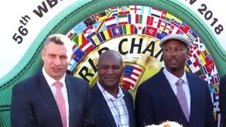 56 й Конгресс  WBC Киев 2018 Встреча гостей