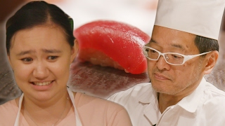 Asian Americans Learn How To Make Sushi