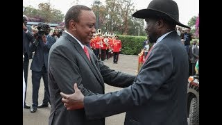 President Uhuru gives South Sudan land in Naivasha