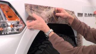 Mossy Oak Graphics Fender Flare Kit Wheel Accent Camo Installation Instructions