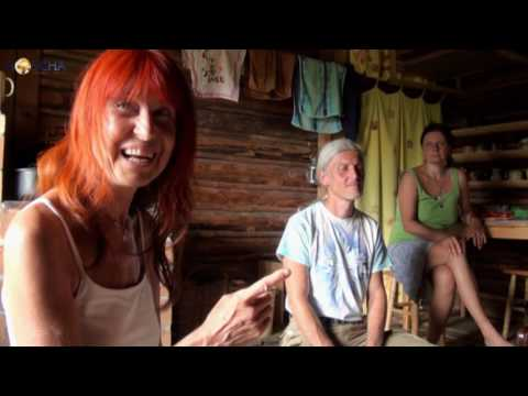 Marcelka z hor - rozhovor s Igorem v chaloupce (14. 7. 2013)