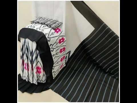 Block Printed Handloom Cotton sarees