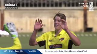 Highlights: Western Australia v NSW, JLT One-Day Cup