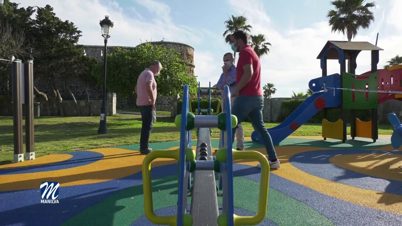 Nueva imagen del parque infantil del Huerto