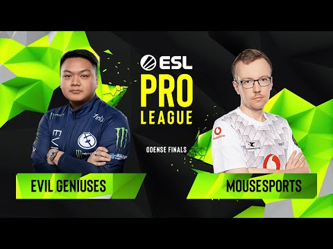 CS:GO - Evil Geniuses vs. mousesports [Train] Map 1 - Quarterfinals - ESL Pro League Season 10 Final