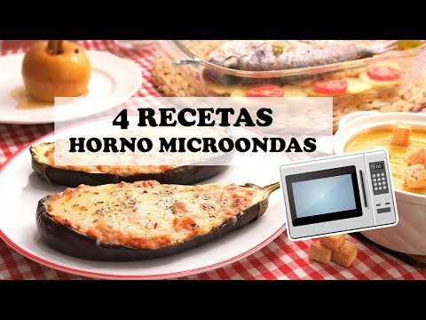 4 Recetas muy Fáciles y Rápidas para el Horno Microondas