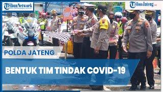 Polda Jateng Bentuk Tim Tindak Covid-19, Kendaraan Dibranding Tulisan Peringatan Protokol Kesehatan