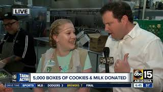 Girl Scouts gear up for big donation to St. Vincent de Paul