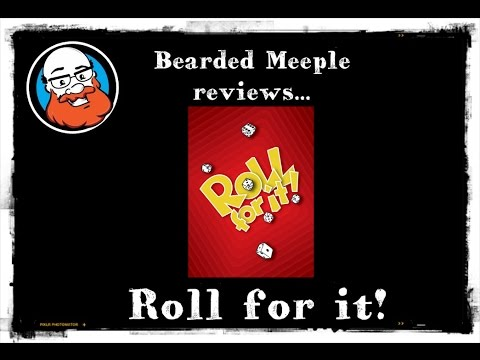 Bearded Meeple reviews Roll For It