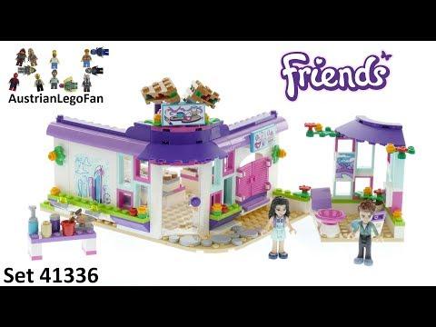 Vidéo LEGO Friends 41336 : Le café des arts d'Emma
