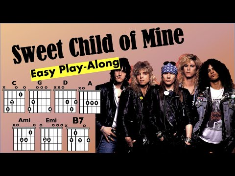 Sweet Child of Mine (Guns n Roses) Chord and Lyrics Play-Along