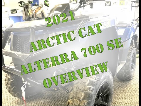 2021 Arctic Cat Alterra 700 SE in Bismarck, North Dakota - Video 1