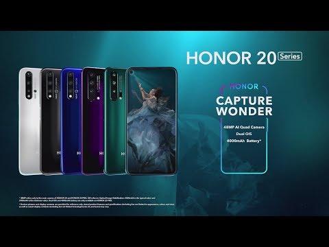 Honor 20 Pro 8GB/256GB Dual SIM pametni telefon, Fantom ljubičasta (Android)