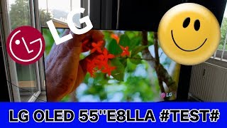 2018 Modell 55'' OLED TV im #TEST# LG OLED55E8LLA #German#