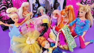 Barbie i zakupy w Lumpeksie / Shopping routine - Bajka po polsku z lalka Barbie