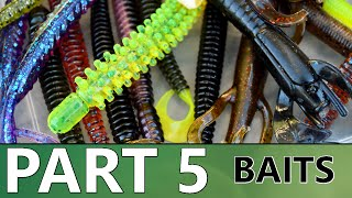 Beginners Guide To BASS FISHING - Part 5 - Baits And Tackle