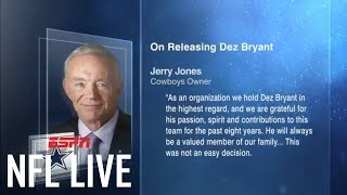 Dallas Cowboys release Dez Bryant | NFL Live | ESPN