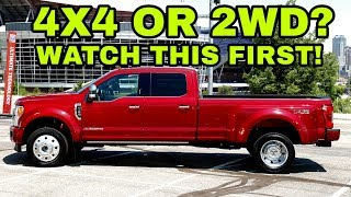 Considering A 4x4 Or 2wd Pickup? Watch This First!