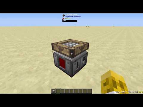 Engineer's Workshop Tutorial - FTB Beyond - Mods A to Z