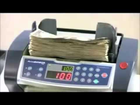 ACCUBANKER  AB 4000 CONTADORA UV-MG COLOMBIA-BOGOTA PBX: 3016899