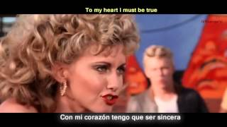 Grease - You're the one that I want [Lyrics y Subtitulos en Español]