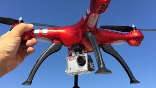 SYMA X8HG TEST FLIGHT----ALTITUDE HOLD!!!