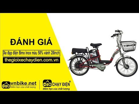 Đánh giá xe đạp điện Bmx inox màu 50% vành 20inch