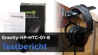 Gravity HP-HTC-01-B (GHPHTC01B) im Test - Stabiler Kopfhörerhalter für den Tisch