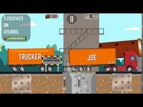 Trucker Joe transports land to a cement plant