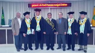Universitas Nasional – Sidang Doktoral S3 Budi Pramono