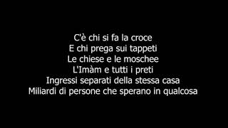 Ermal Meta, Fabrizio Moro -  Non mi avete fatto niente  TESTO (Sanremo 2018 & Eurovision 2018)