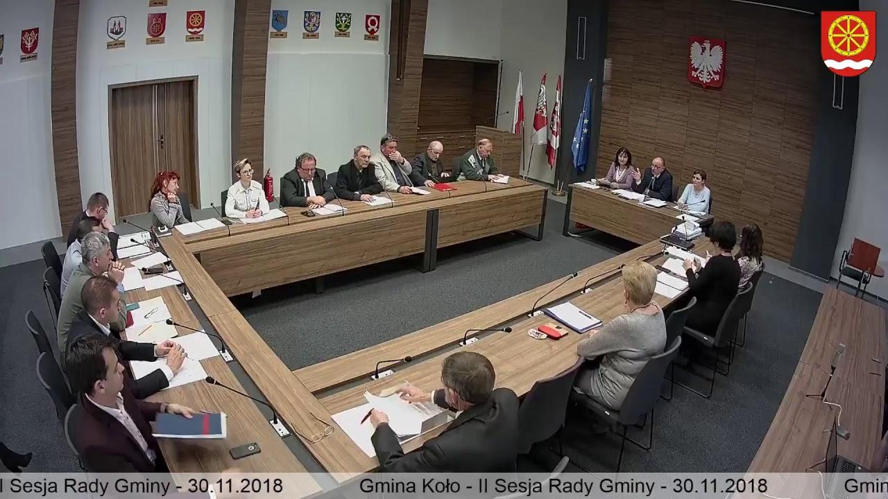 Zdjęcie do II Sesja Rady Gminy Koło