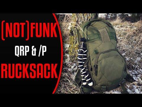 Mein (Not-)Funk-Rucksack für SOTA, Berg-DX und Bergfunk auf Kurzwelle (QRP und /p)