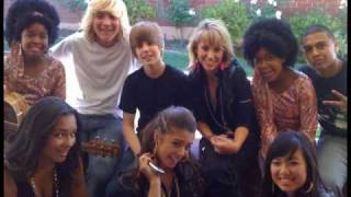 R5, Justin Bieber School Gyrls movie behind the scenes photos
