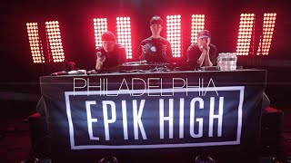 EPIK HIGH 2019 TOUR - sleepless in PHILADELPHIA