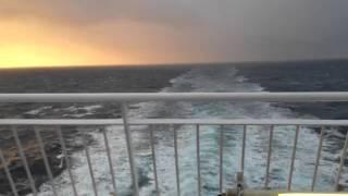 Departure: Aboard Hrossey Past Fair Isle   Shetland Isles