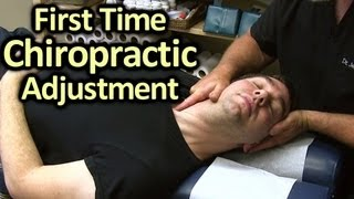 First Time Chiropractor Neck & Back Adjustment Demonstration by Austin Chiropractic Care