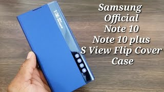 Samsung Galaxy Note 10/Note 10 Plus S View Flip Cover Case