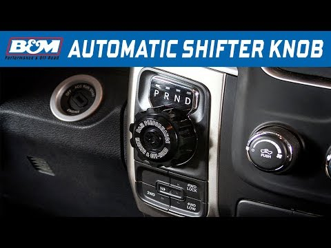 2013-18 Ram 1500 - B&M Billet Automatic Shift Knob 81166