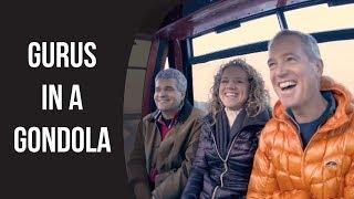 Gurus In A Gondola Getting Dinner