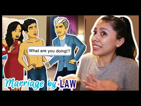 HIS DAD CAUGHT US! WHY DID WE LIE?! - MARRIAGE BY LAW (Episode 5) - App Game