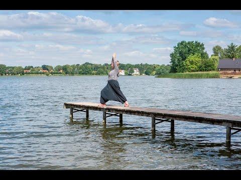 Yogawandern im Schlaubetal