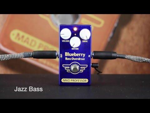 MAD PROFESSOR BlueBerry Bass Overdrive Baskytarový efekt