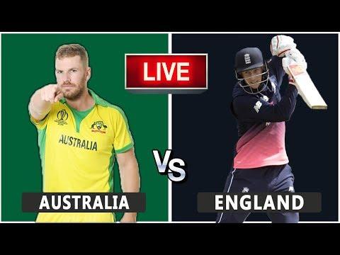 England Vs Australia Live Match | CWC19 | ENG VS AUS | Live Score and Reaction