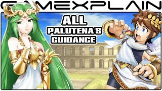 Smash Bros Wii U: All Palutena's Guidance Secret Conversations (Easter Egg)
